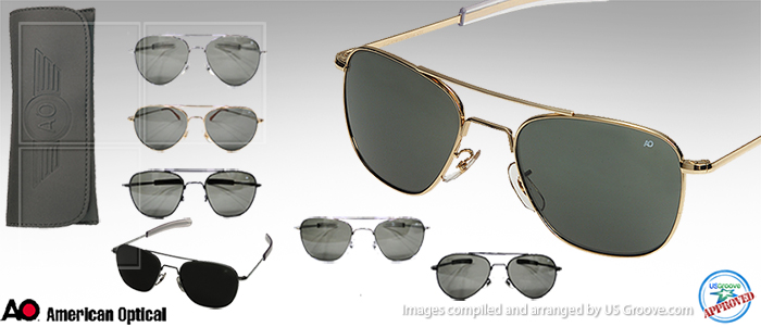 American Optical  A Military Tradition in Sunglasses   US Groove ... dbf157055bb