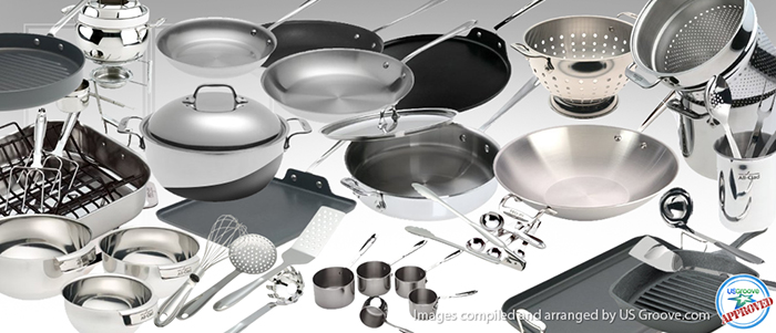 All Clad Five Star Kitchen Cookware Made In Usa At Us Groove