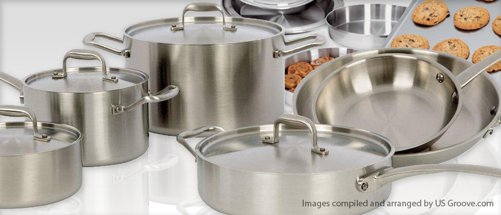 American Kitchen Stainless Cookware And Bakeware Us Groove Products Made In Usa