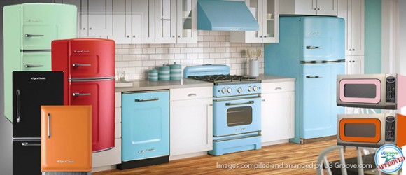 Attirant Big Chill: Retro Yet Very Modern Kitchen Appliances