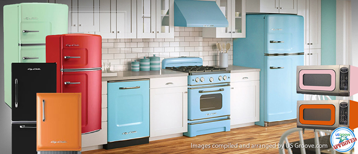 Big Chill: Retro Yet Very Modern Kitchen Appliances @ US Groove U2013 Products  Made In USA
