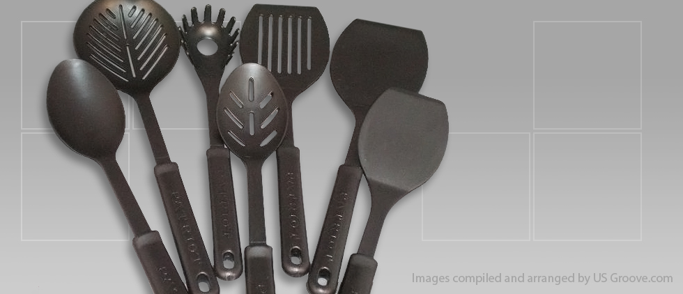 Patriot Plastics: Plastic Kitchen Utensil Set @ US Groove U2013 Products Made  In USA