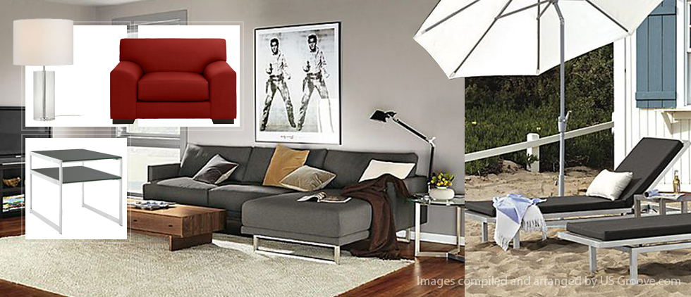Room And Board Modern Furniture Mostly Us Sourced Us Groove Products Made In Usa