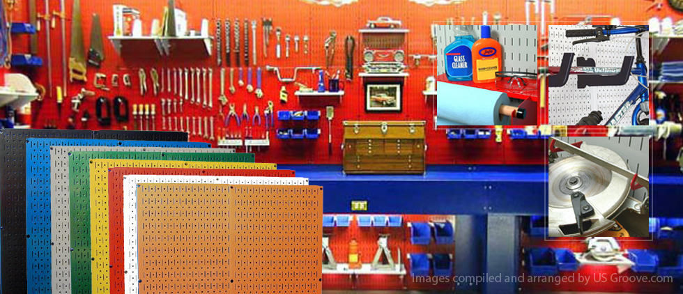 Wall Control Pegboard And Storage System Us Groove