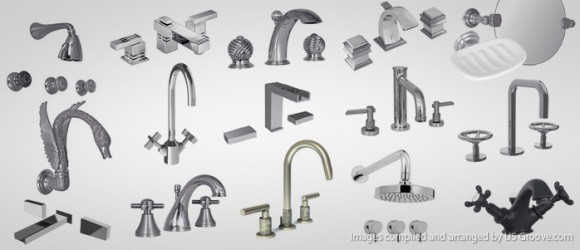 Watermark Designs High End Bathroom Hardware Us Groove Products