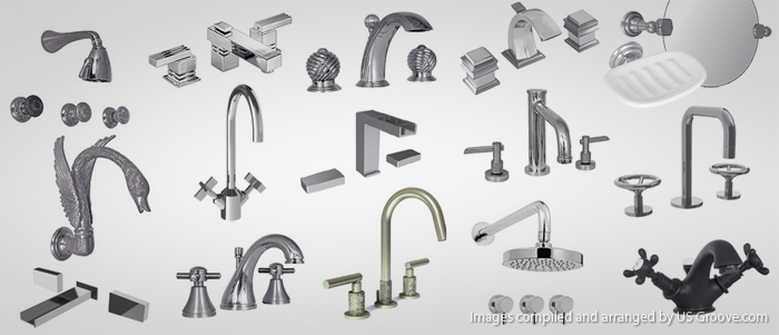 Watermark Designs: High End Bathroom Hardware